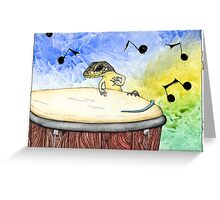 Skink Notes Greeting Card
