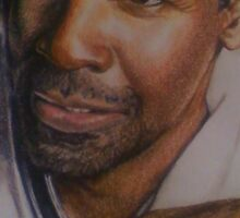 Denzel Washington Sticker