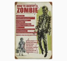 How to ID a Zombie from a LAWYER Funny Walking Dead Spoof by sturgils