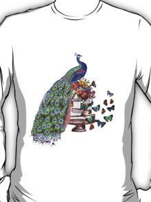 Vintage Peacock Beauty T-Shirt