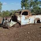 Old wreck at Pelican Waterhole - Winton, QLD by DashTravels