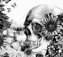 Reflection. Skull landscape by KristyPatterson