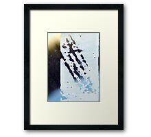 Mend IV Framed Print