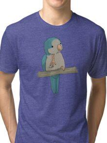 Cute Quaker: Version Blue Tri-blend T-Shirt