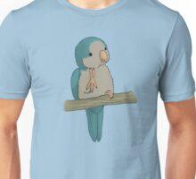 Cute Quaker: Version Blue Unisex T-Shirt