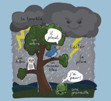 La tempete (The storm) Baby Tee
