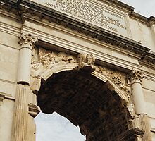 Rome Triumphal Arch by PatiDesigns