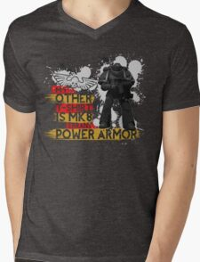 My Other T-Shirt Is Power Armor 1 Mens V-Neck T-Shirt