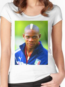 Balotelli Women's Fitted Scoop T-Shirt