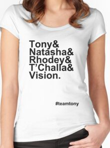 Team Tony Women's Fitted Scoop T-Shirt