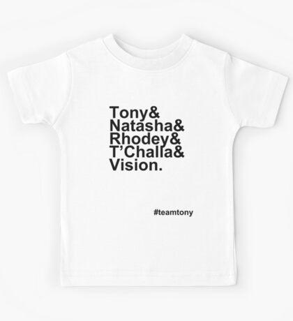 Team Tony Kids Tee