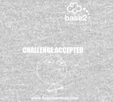 base2 Challenge Accepted Baby Tee