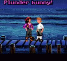 Plunder bunny! (Monkey Island 1) Sticker