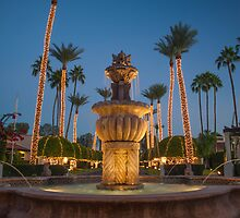 Fountain and Trees by JasonCronk