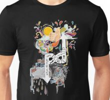 Look Up-Light Design Unisex T-Shirt