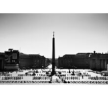 St. Peter's Square Photographic Print