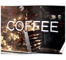 Main Street Coffee Shop  Poster