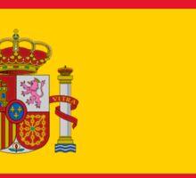 SPAIN, SPANISH, Espania, Flag of Spain, Spanish Flag, Bandera de España, Kingdom of Spain, Sticker