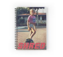 Skate Shred Spiral Notebook