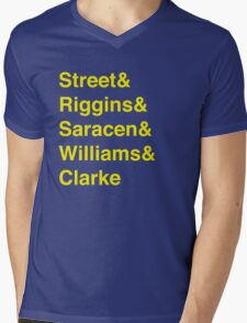 Panther-vetica Mens V-Neck T-Shirt
