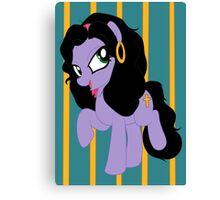 Pony Esmeralda Canvas Print