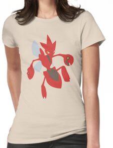 Scizor - lineless Womens Fitted T-Shirt