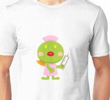 Frog blonde nurse and syringe Unisex T-Shirt