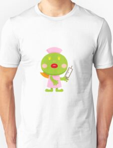 Frog blonde nurse and syringe T-Shirt