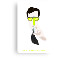 Re-Animator/Herbert West Canvas Print