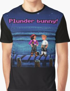 Plunder bunny! (Monkey Island 1) Graphic T-Shirt