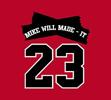 Mike Will Made It - 23 iPad Case [RED] by HoodRich