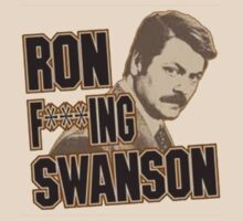 Ron F***ING Swanson by Matthew Durigon