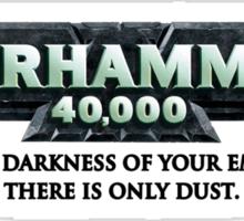 Grimdarkness Sticker
