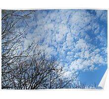 Cotton Wool Cloud Formations Poster