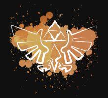 Hyrule Crest Splat (Dark) by snailkeeper
