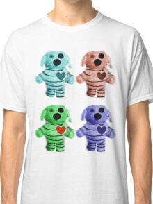 Colorful Zombie Dogs Classic T-Shirt