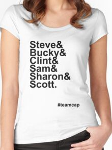 Team Captain Women's Fitted Scoop T-Shirt