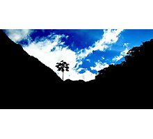 Cute Blue sky Photographic Print