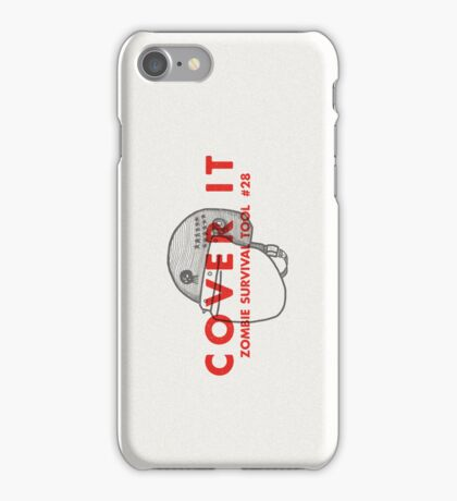 Cover it! - Zombie Survival Tools iPhone Case/Skin