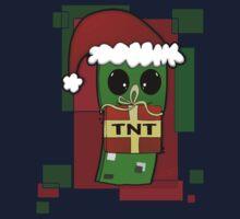 Minecraft Christmas Creeper  Kids Clothes