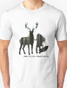 In the woods. Unisex T-Shirt
