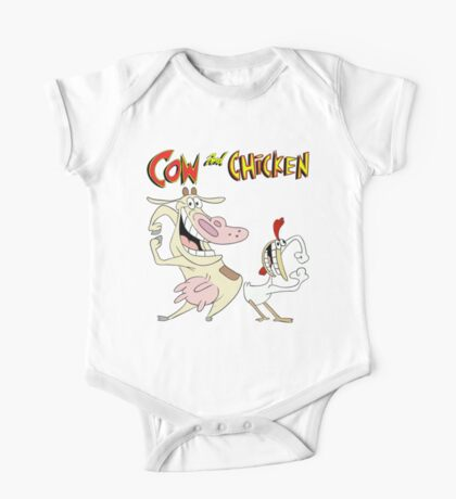 Cow and Chicken One Piece - Short Sleeve