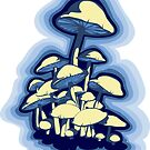 magic mushrooms by SFDesignstudio