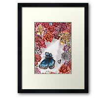 Death of the Beauty Framed Print