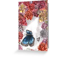 Death of the Beauty Greeting Card