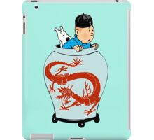 Tintin Dragon iPad Case/Skin