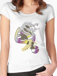Mega Mawile Evolution Women's Fitted Scoop T-Shirt