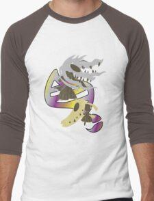 Mega Mawile Evolution Men's Baseball ¾ T-Shirt