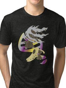 Mega Mawile Evolution Tri-blend T-Shirt