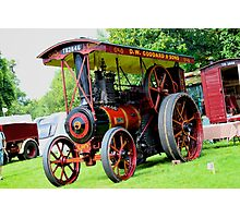 Traction Engine  Photographic Print